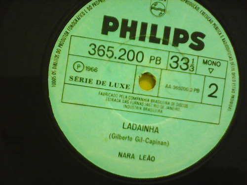 nara leão - a banda / ladainha  - compacto philips simples
