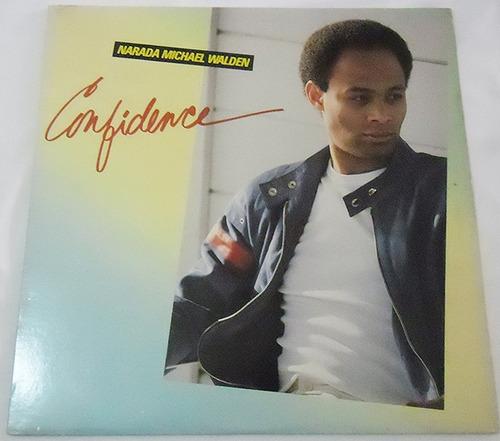 narada michael walden - confidence - lp importado 1982
