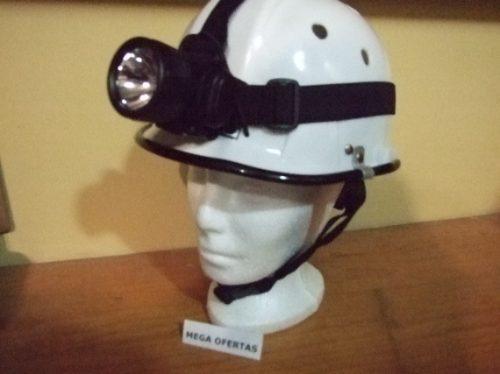 naranja casco lampara deporte rescate p civil