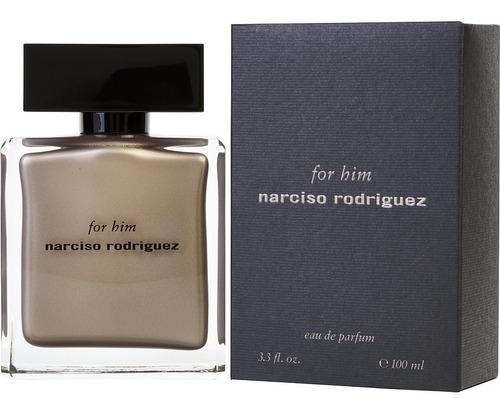 narciso rodriguez for him eau parfum 100ml original lacrado!