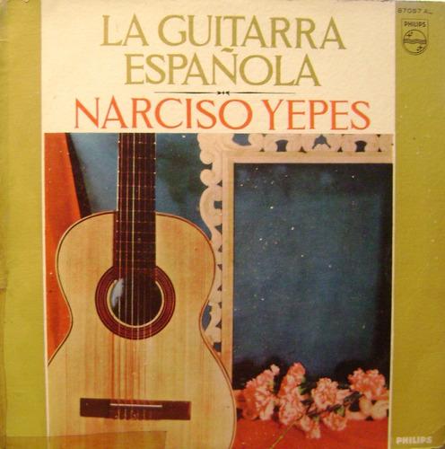 narciso yepes la guitarra española vinilo lp