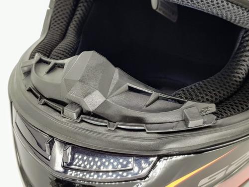 narigueira para capacete ls2 ff358 e ff353 polivisor