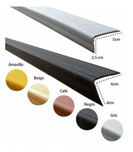 nariz de grada pvc 120cmx62mm antideslizante/plasticosmorija