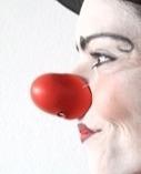 nariz de palhaço em látex profissional nº27 mascara