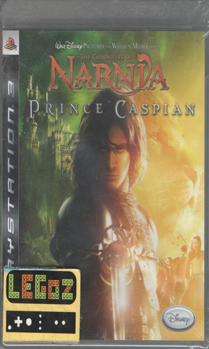 narnia prince caspian-disco sellado-ps3-legoz zqz-ref 1004