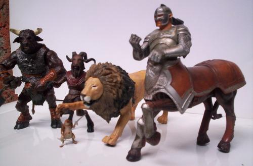 narnia set de 5 figuras disney hasbro star wars harry potter