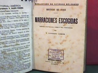 narraciones escogidas-machado de asis-america-madrid-1920
