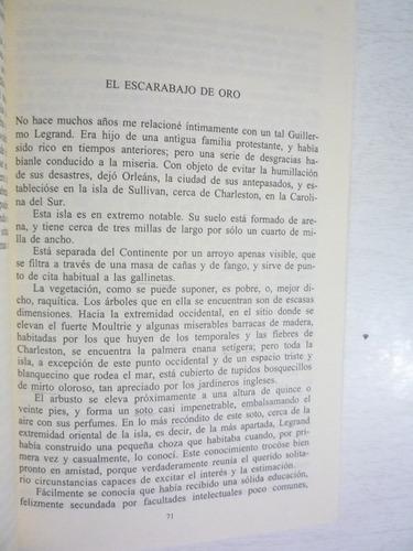 narraciones extraordinarias. e. allan poe. 31a ed. porrúa.