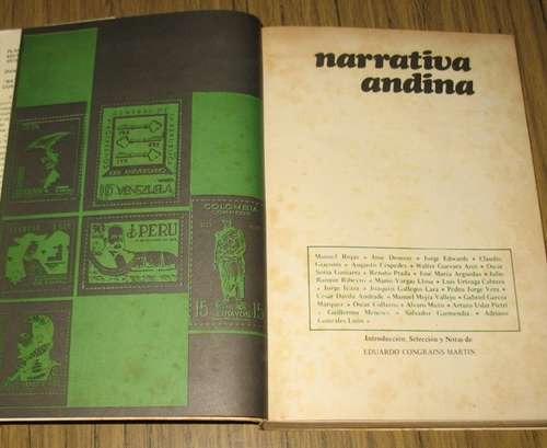 narrativa andina : 24 obras - 24 autores - 6 países