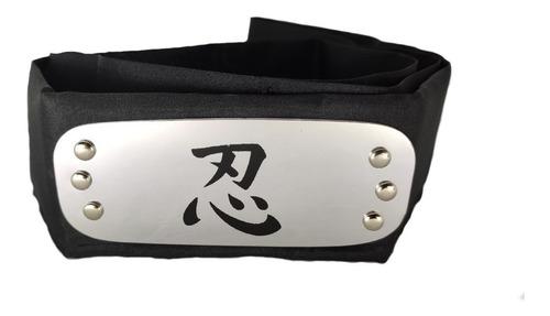 naruto banda para la cabeza alianza shinobi 1m de largo