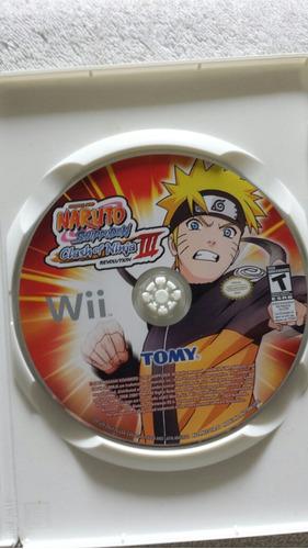naruto clash of ninja iii nintendo wii y wii u