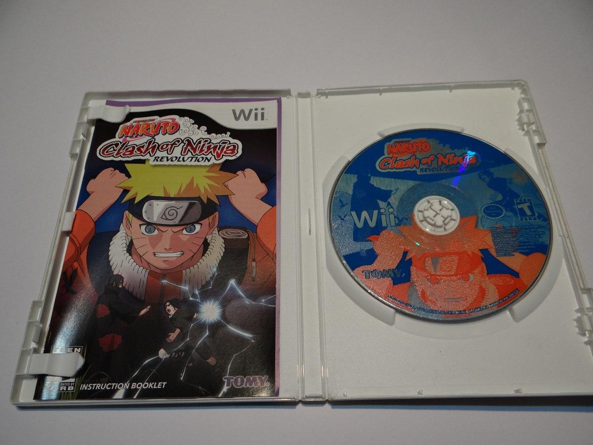 Naruto Clash Of Ninja Series : Naruto clash of ninja revolution wii r em mercado