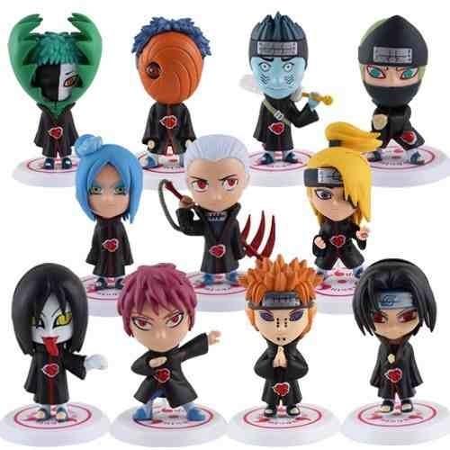 Naruto colecci n de figuras 11 personajes 6 cms chibi for Coleccion figuras naruto altaya