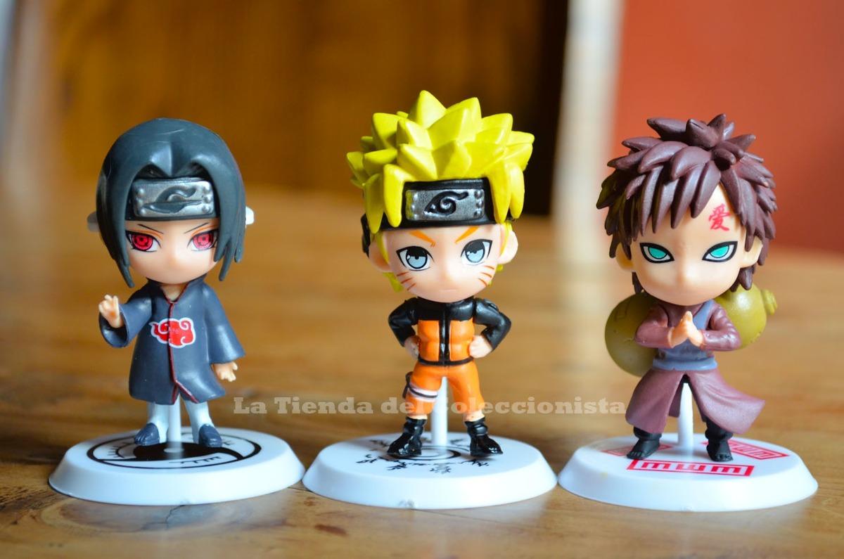 Naruto colecci n de figuras 6 personajes 6 cms anime for Coleccion figuras naruto altaya