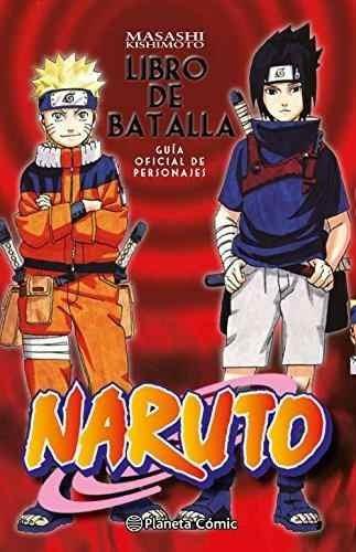 naruto, guia libro de batalla masashi kishimoto , translated