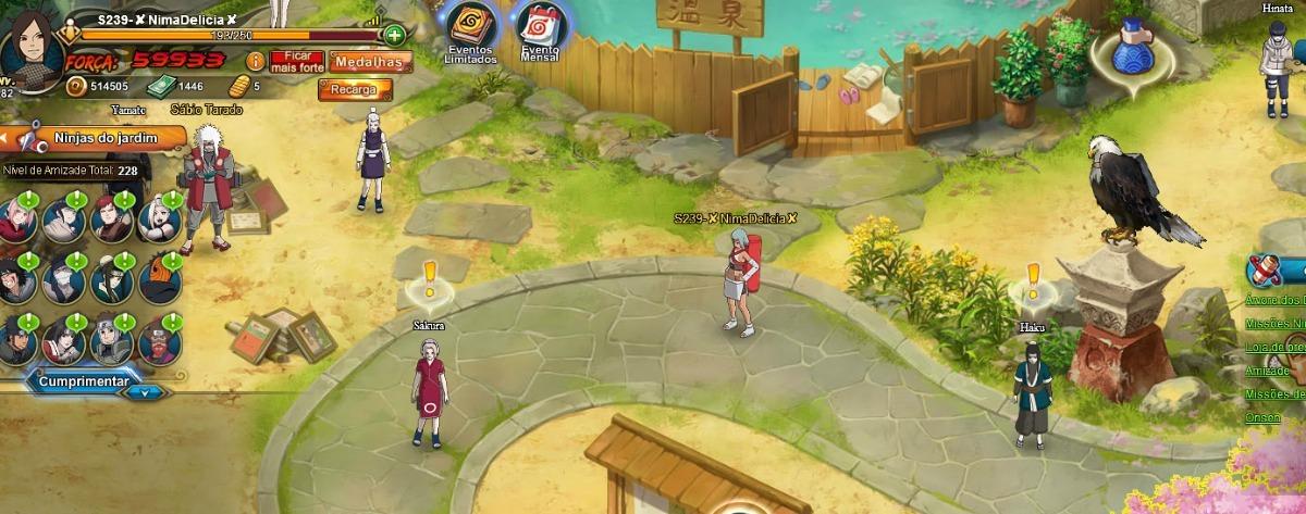 Naruto Online 83k De Força - Detalhes Descrição Do Anuncio!!