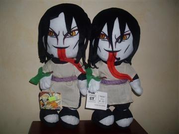 naruto  promocion 2  muñecos originales por.  $500.00hy1