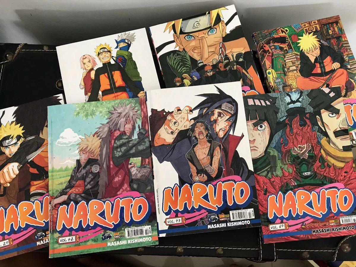 Naruto Shippuden Manga Book