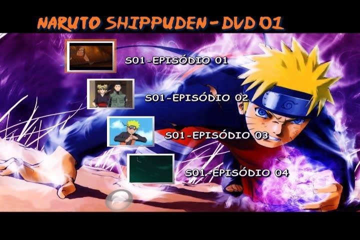 Naruto Shippuden Completo 500 Episodios Dub Leg Frete Grátis