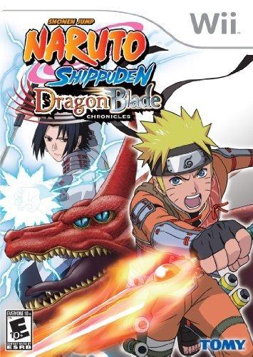 naruto shippuden dragon blade chronicles - nintendo wii de