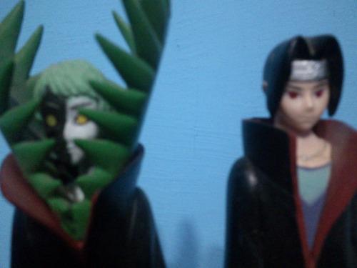naruto shippuden - figuras sasuke,itachi,zetsu