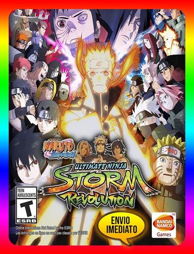 naruto shippuden ninja storm revolution pc steam (envio já)