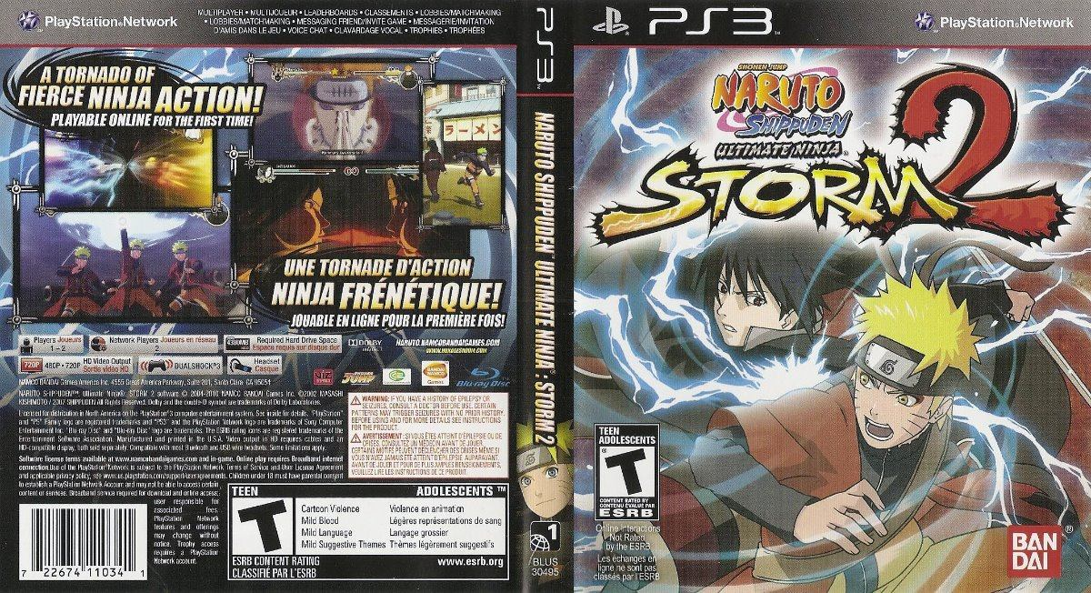 Naruto Shippuden Ultimate Ninja Storm 2 Ps3 Fisico Original - $ 920,00
