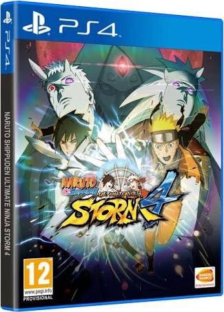 naruto shippuden: ultimate ninja storm 4 para ps4 nuevo