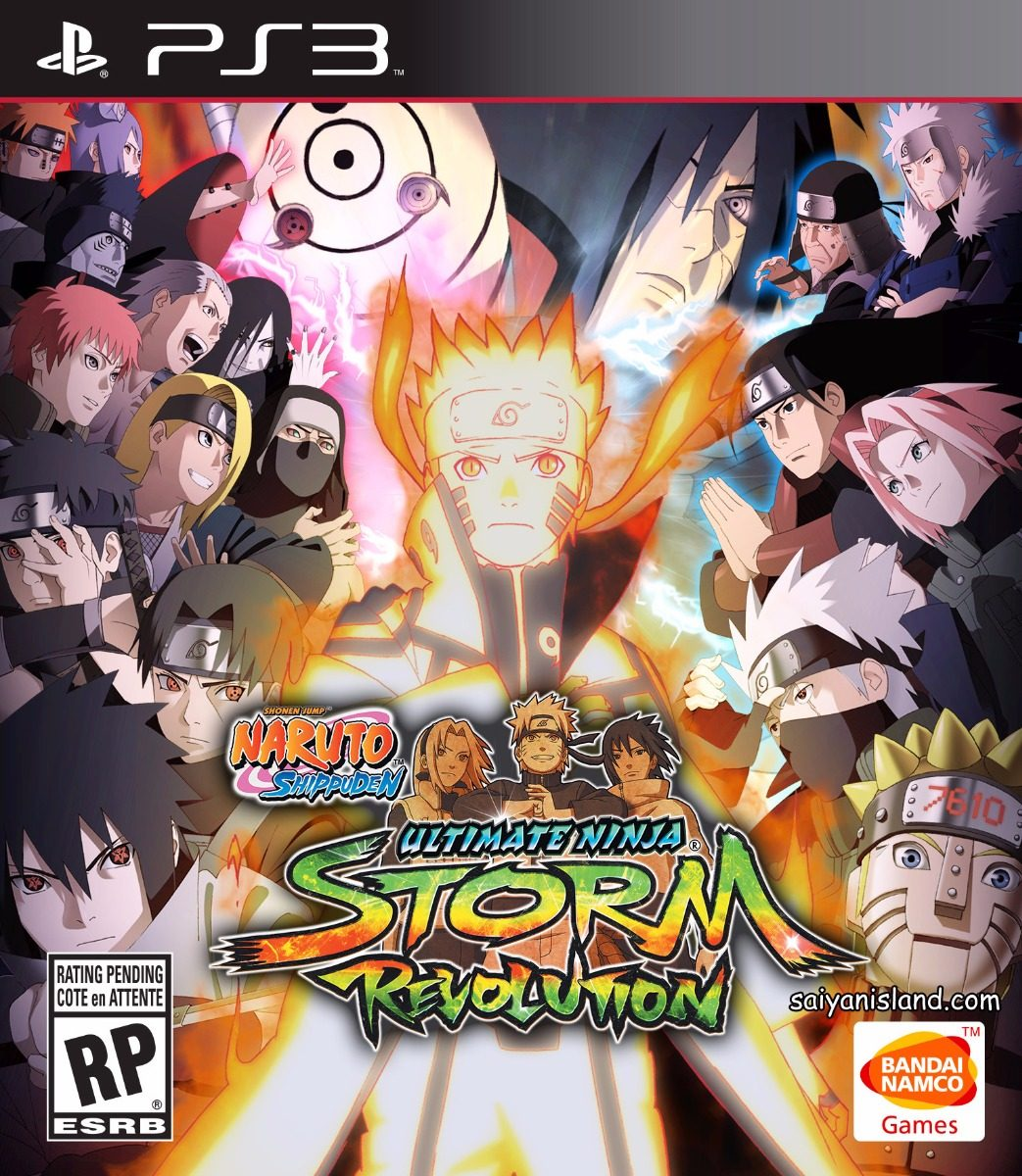 Naruto Shippuden: Ultimate Ninja Storm Revolution Ps3 Origin - $ 910,00