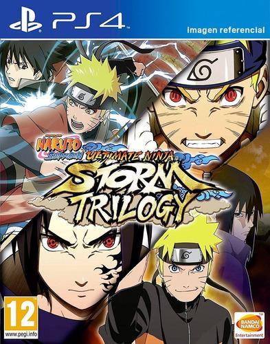 naruto shippuden ultimate ninja storm trilogy / juego ps4