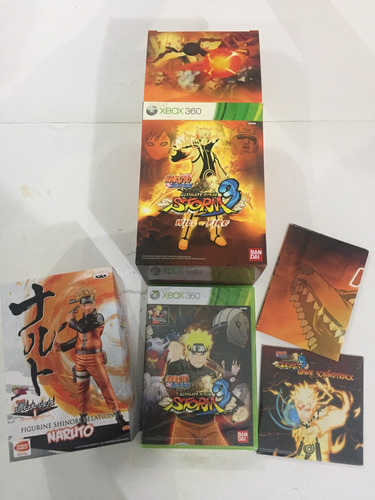 naruto storm 3 will of fire collector edition!!! como nueva