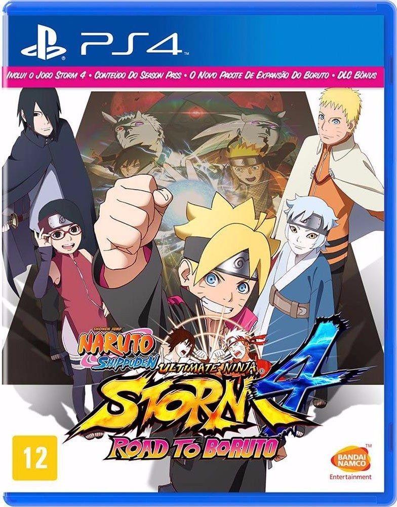 Naruto Storm 4 Road To Boruto Ps4 No Necesita Internet Bs 600