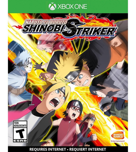 naruto to boruto shinobi striker - xbox one fisico nuevo