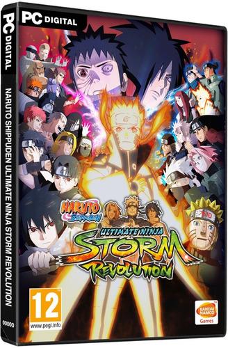 naruto: ultimate ninja storm revolution pc steam 15 dígitos