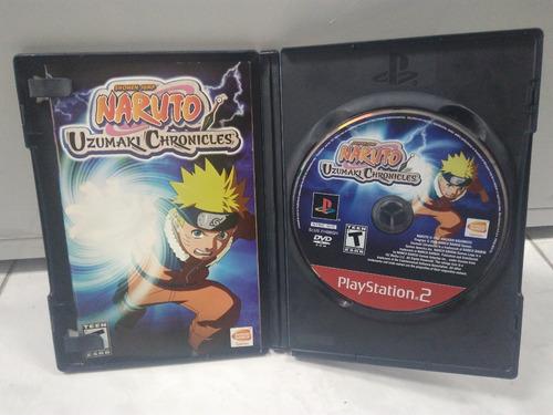 naruto: uzumaki chronicles - playstation 2 - original