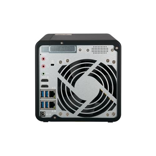 Nas - Sata Ethernet - Qnap Smb 4 Baias Ts-453be-4g-us (4gb