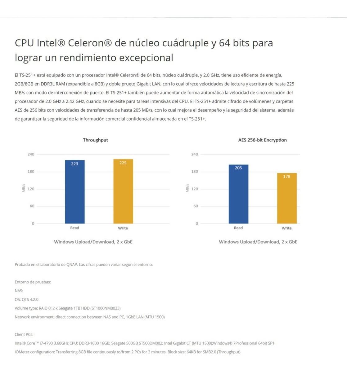 Nas Storage 2 Bahias Qnap Ts251+ 4gb Red Intel Hdmi Plex Hd