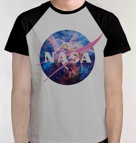e43f218b13 Nasa Camiseta Raglan Nerd Camisa Blusa Masc Feminino S frete
