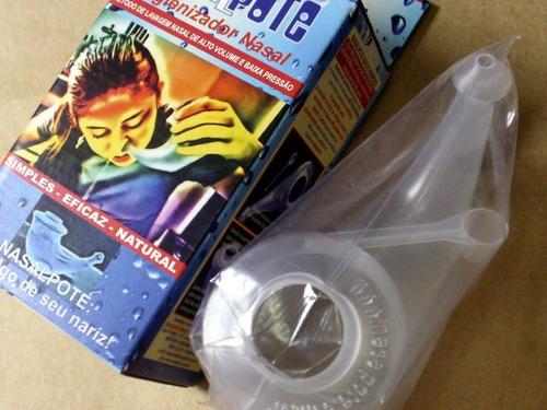 nasal pote higienizador nasal método natural contra sinusite