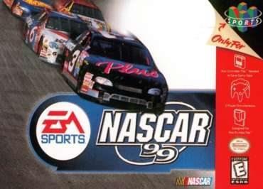 Nascar 99 Carreras De Autos Nintendo 64 N64 25 000 En