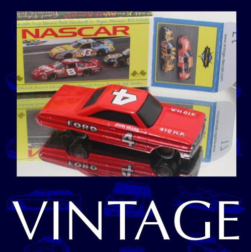 nascar classico #4 john sears +  + box custom - nas10-