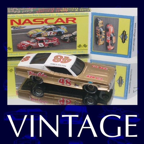 nascar classico #48 james hilton + box custom - nas10-