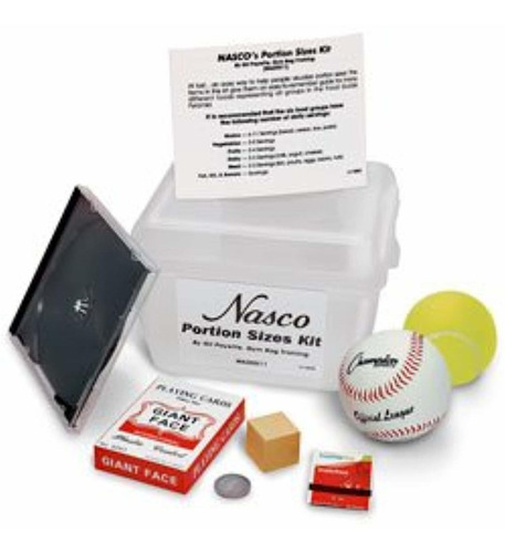 nasco nasco s portion sizes kit - wa20511
