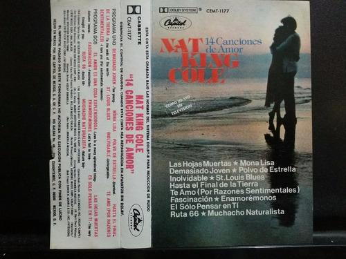 nat king cole 14 canciones de amor cass usado ed méxico 1983