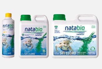 natabio bactericida nataclor libre de cloro uso mensual x2lt