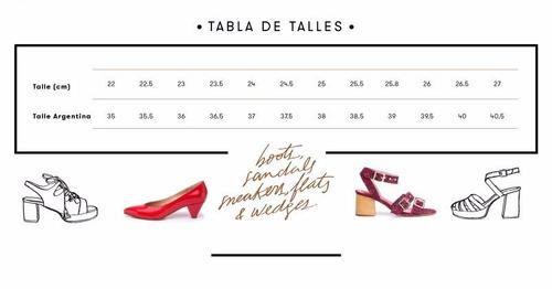 natacha zapato mujer chata tarantino tela velvet pink