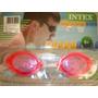 Lentes De Natacion Intex Color Rosa Adultos 8+