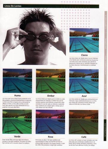 natacion deportes gafas