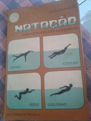 natação aprendizagem livre em 4 estilos