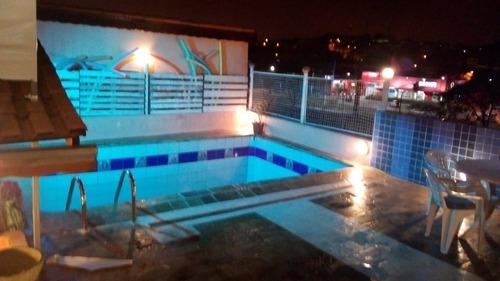 natal ano novo!!! c/ piscina ideal terraço - 400 mts metrô
